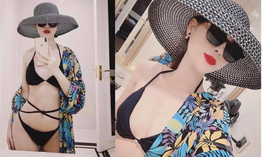 Minh Hung Hãn diện bikini siêu HOT khác hẳn gái quê Hướng Dương Ngược Nắng-4