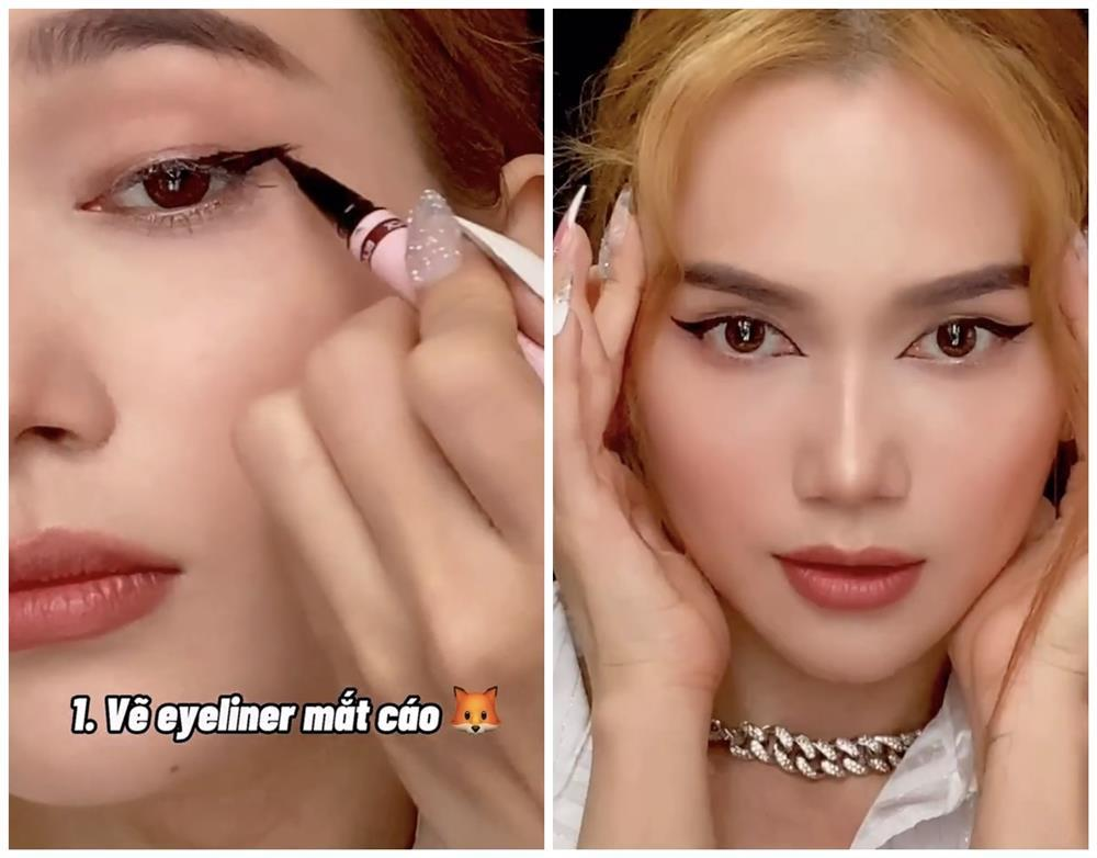Bắt trend vẽ eyeliner mắt thú vừa độc vừa dễ như bỡn từ Sĩ Thanh-1