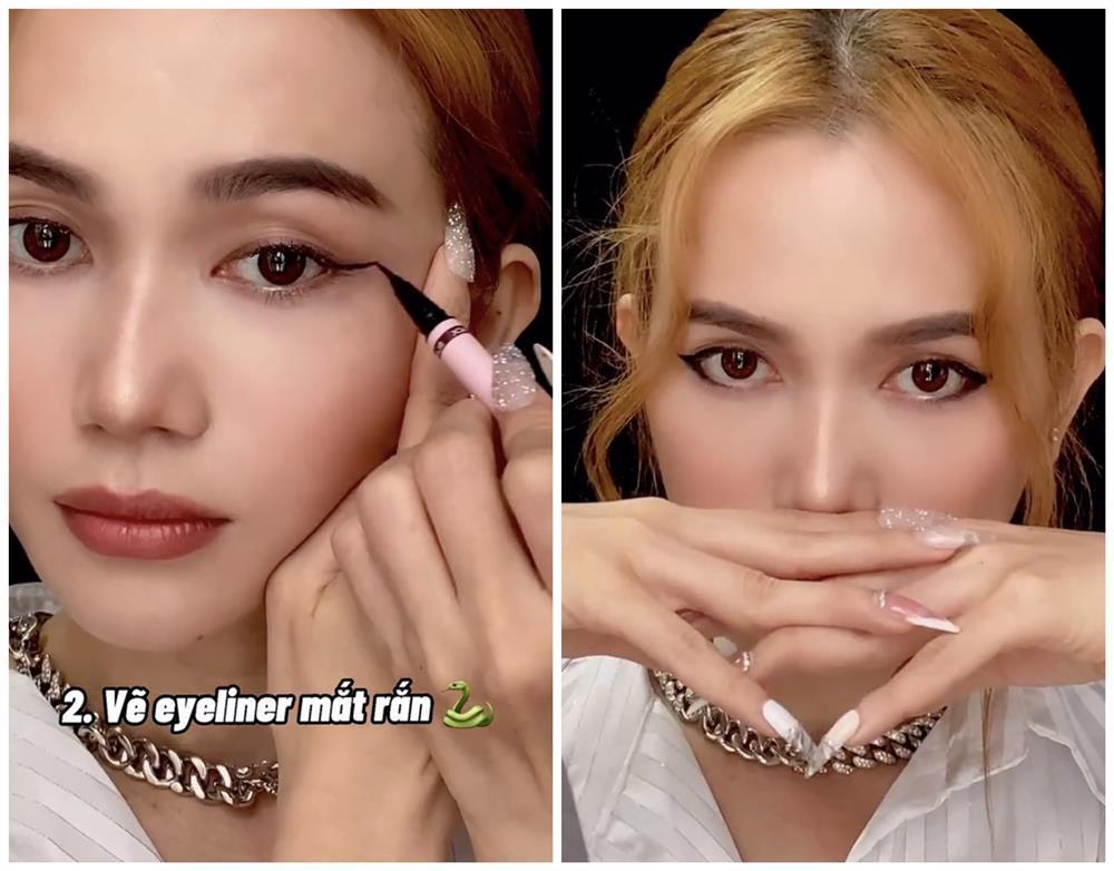 Bắt trend vẽ eyeliner mắt thú vừa độc vừa dễ như bỡn từ Sĩ Thanh-3