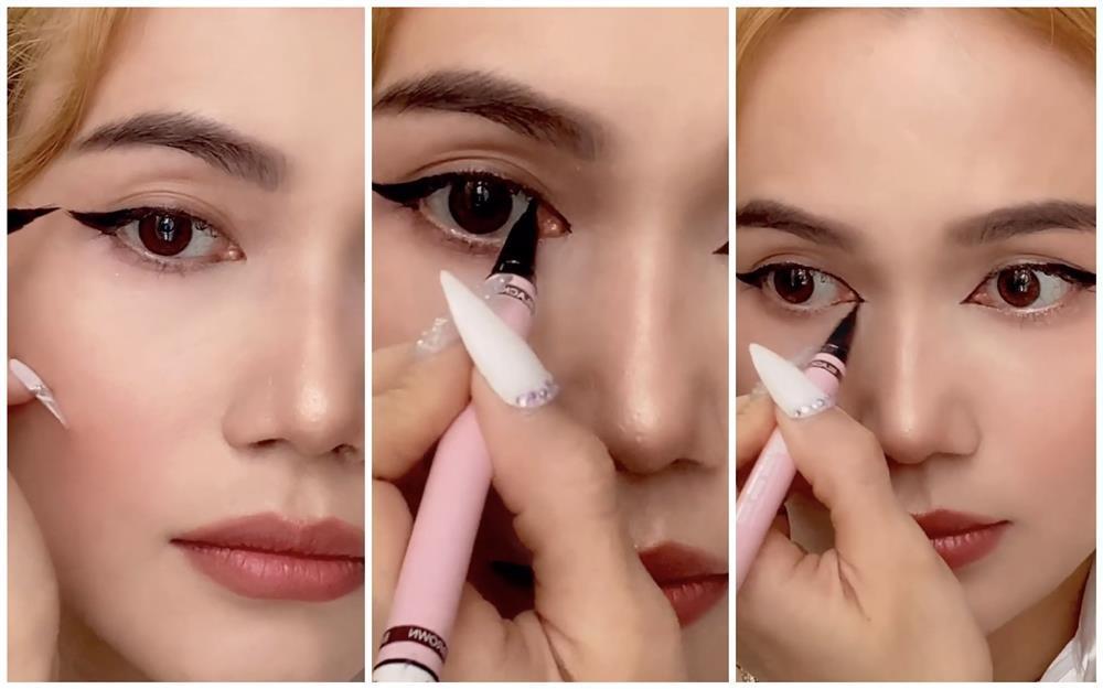 Bắt trend vẽ eyeliner mắt thú vừa độc vừa dễ như bỡn từ Sĩ Thanh-2