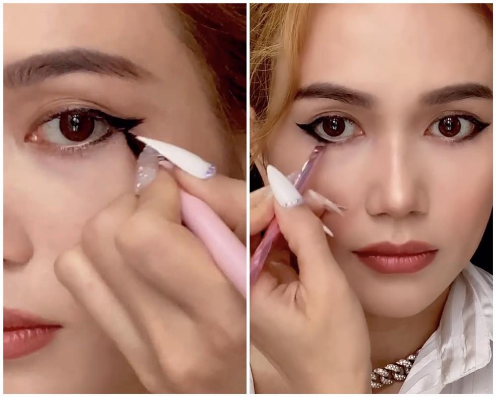 Bắt trend vẽ eyeliner mắt thú vừa độc vừa dễ như bỡn từ Sĩ Thanh-4