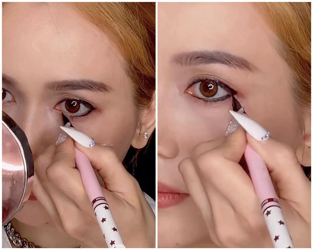 Bắt trend vẽ eyeliner mắt thú vừa độc vừa dễ như bỡn từ Sĩ Thanh-7