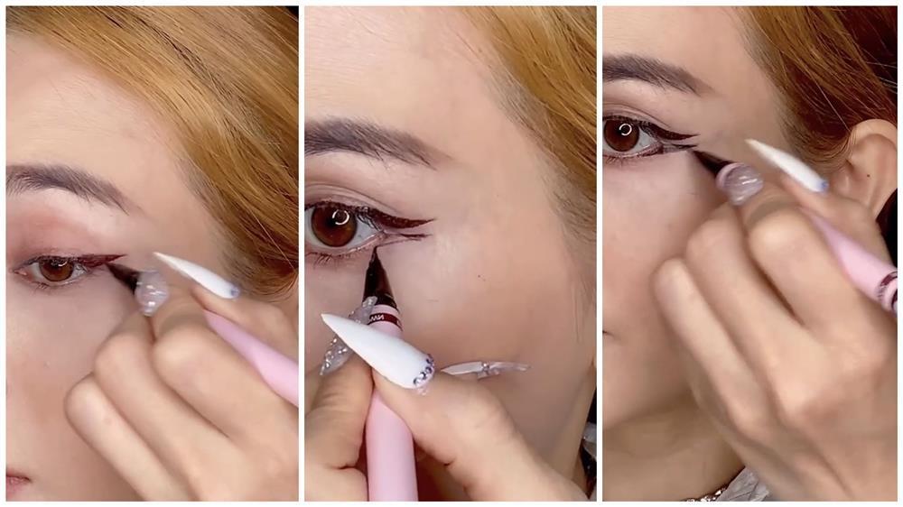 Bắt trend vẽ eyeliner mắt thú vừa độc vừa dễ như bỡn từ Sĩ Thanh-9
