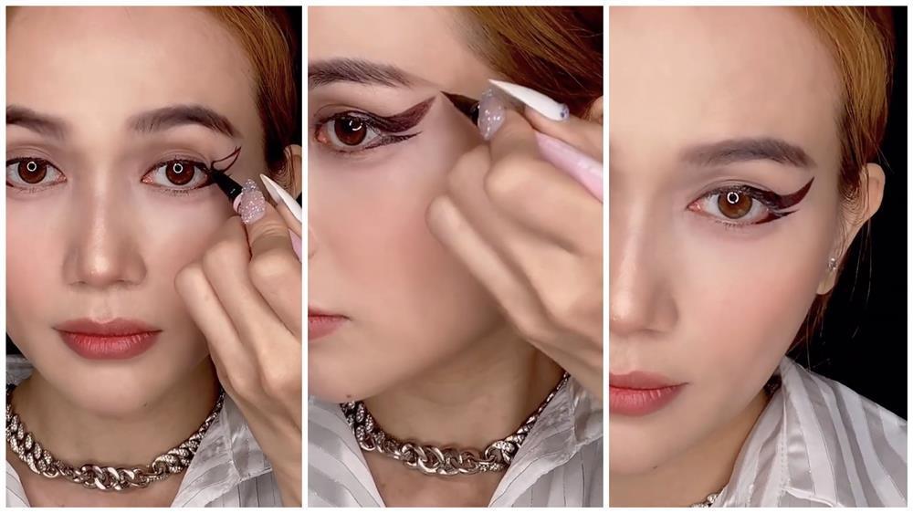 Bắt trend vẽ eyeliner mắt thú vừa độc vừa dễ như bỡn từ Sĩ Thanh-11