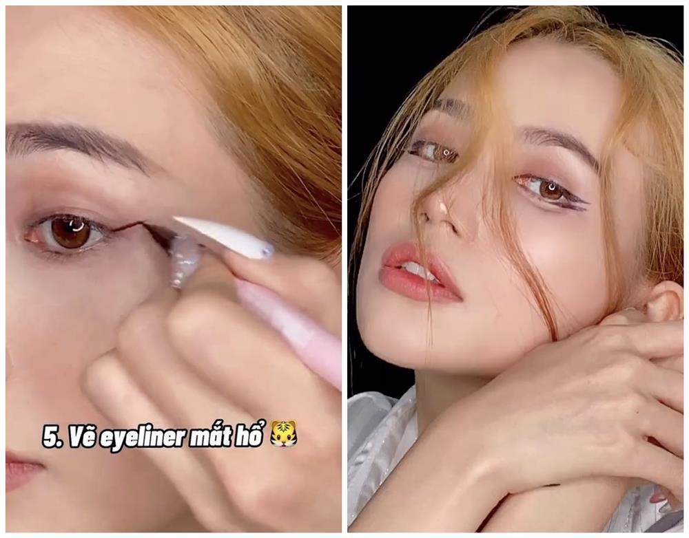 Bắt trend vẽ eyeliner mắt thú vừa độc vừa dễ như bỡn từ Sĩ Thanh-8