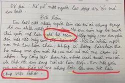 Bài văn tả mẹ làm nghề kế toán dễ thương hết nấc nhưng câu chốt khiến ai nấy cười bò