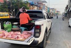 Sắm hẳn ô tô để bán thịt, chị gái: 'buôn bán vì đam mê chứ lời lãi gì tầm này'