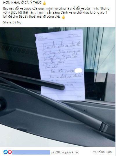Đỗ xe chắn ngang cửa, tài xế có hành động khiến chủ nhà chả nỡ giận-1