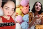 'Chill' bồn tắm với bath bomb: Lương Thùy Linh relax, Tóc Tiên và Giang Ơi 'fail lòi'