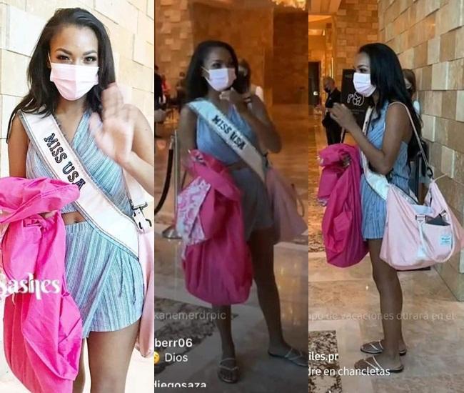 Chủ nhà Miss Universe 2020 liên tục ăn mặc lôi thôi, đi thi như đi chợ-3