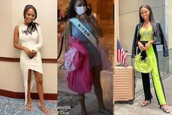 Chủ nhà Miss Universe 2020 liên tục ăn mặc lôi thôi, đi thi như đi chợ