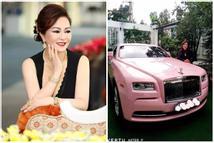 Vợ đại gia Dũng 'Lò Vôi': Dát kim cương lóa mắt, lướt Rolls-Royce 30 tỷ