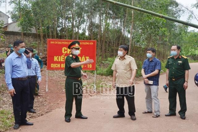 Bắc Giang giãn cách xã hội toàn huyện Lục Nam từ 17h hôm nay-1