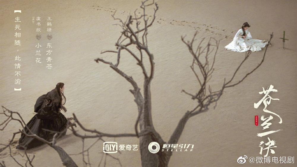 Phim mới của Ngu Thư Hân tung poster xấu điên đảo, lại còn chỉnh sửa quá đà-1