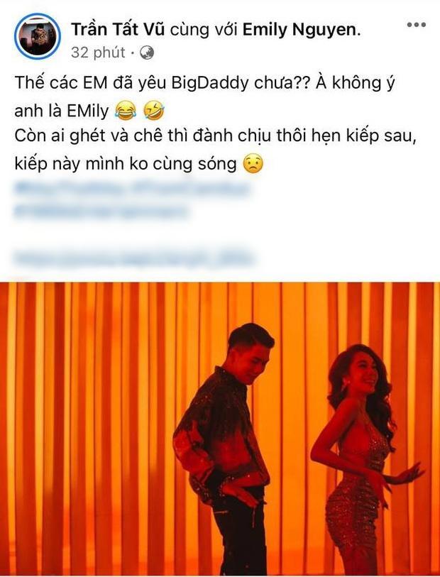 Big Daddy đáp lại lời chê MV rác: Hẹn kiếp sau, kiếp này không cùng sóng-2