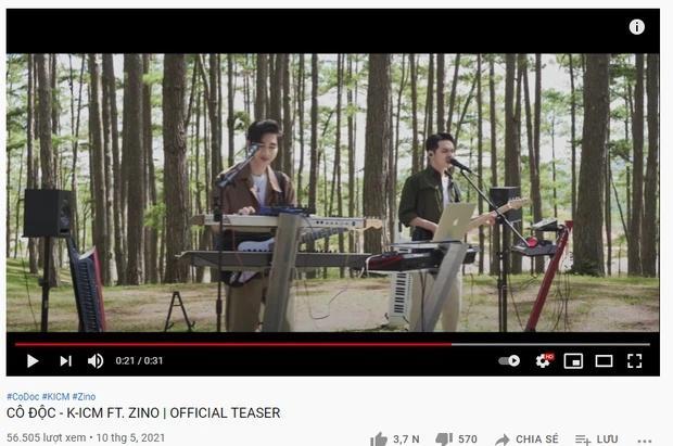 Antifan cà khịa việc để tên K-ICM phía trước ca sĩ Zino (MONSTAR) trong tiêu đề MV mới-1