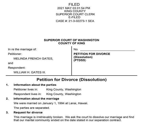 Vợ tỷ phú Bill Gates bất ngờ đăng status ẩn ý sau hơn 1 tuần ly hôn-1