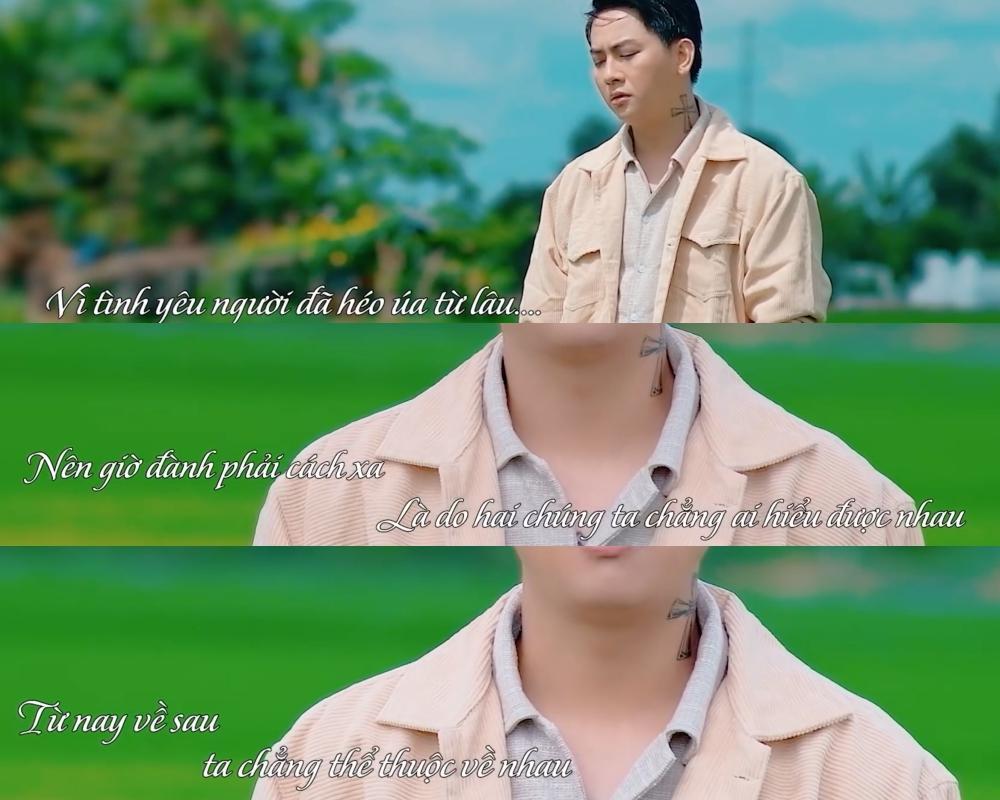 Hoài Lâm thờ ơ, mất hồn trong MV mới sau khi Cindy Lư công bố yêu Đạt G-2
