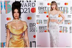 Dàn mỹ nhân chuộng váy xẻ ngực sâu tại Brit Awards 2021