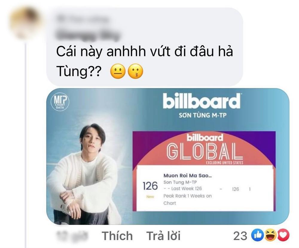 Sơn Tùng lọt Billboard Global uy tín nhất hành tinh mà không biết tí gì mới sợ!-4