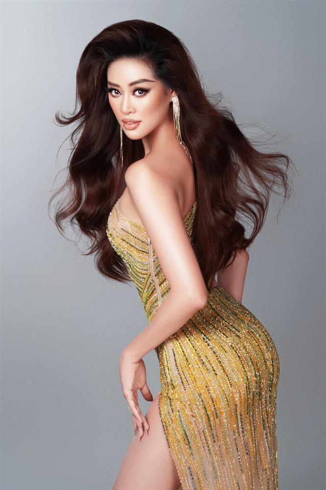 Hé lộ đầm dạ hội Khánh Vân chặt chém ở bán kết Miss Universe-7