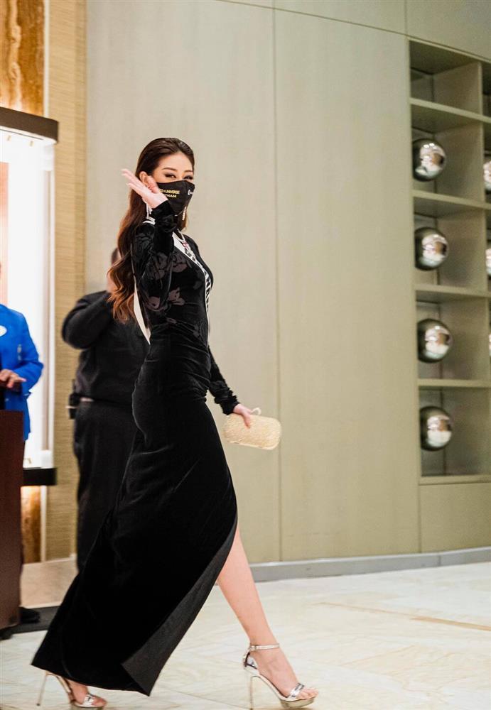 Hé lộ đầm dạ hội Khánh Vân chặt chém ở bán kết Miss Universe-5
