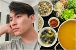 Kiều Minh Tuấn nấu hai bữa bún ốc một ngày