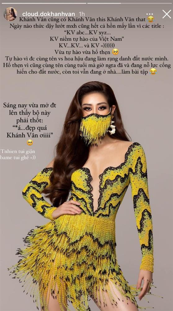Khánh Vân Sao Nhập Ngũ vừa tự hào vừa hổ thẹn khi trùng tên Hoa hậu-2