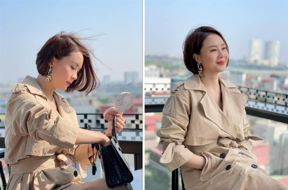 Phát hiện thú vị Hồng Diễm lấy đồ cũ để Châu mặc trong Hướng Dương Ngược Nắng-4