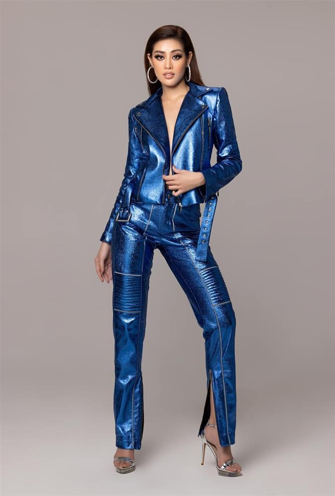 Diện trang phục hầm hố, Khánh Vân khẳng định đẳng cấp không phải dạng vừa trước chung kết Miss Universe-1