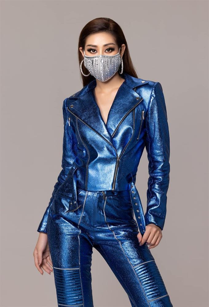 Diện trang phục hầm hố, Khánh Vân khẳng định đẳng cấp không phải dạng vừa trước chung kết Miss Universe-2