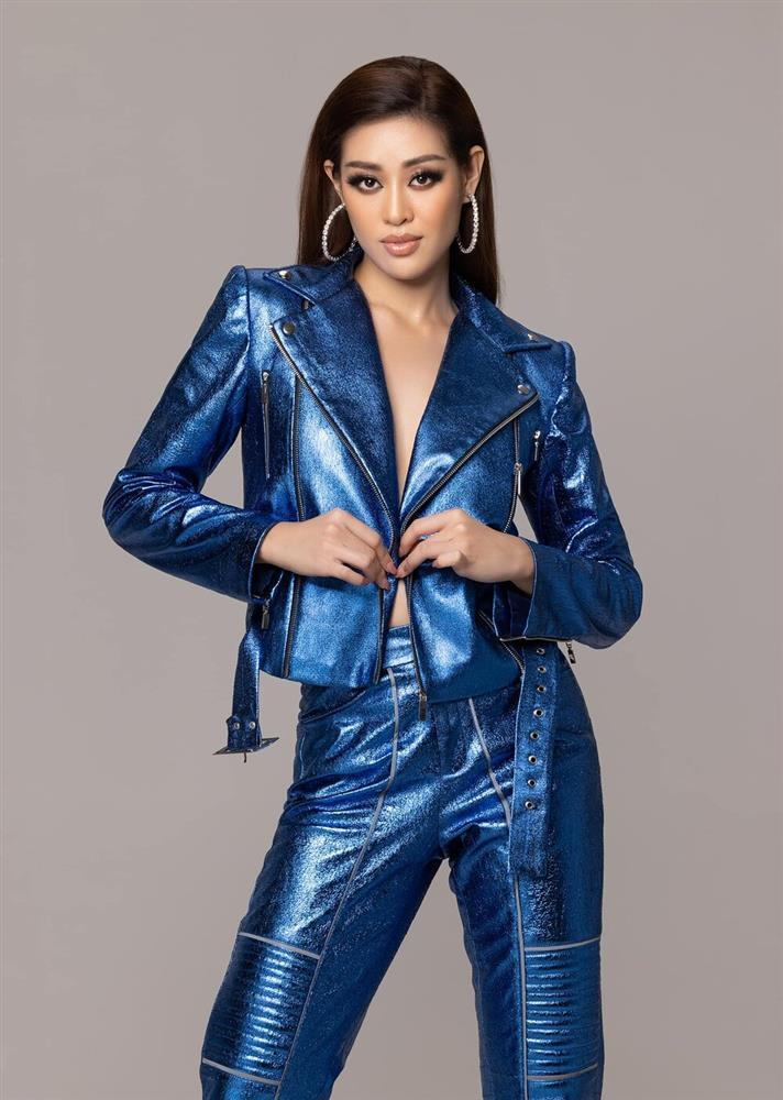 Diện trang phục hầm hố, Khánh Vân khẳng định đẳng cấp không phải dạng vừa trước chung kết Miss Universe-3