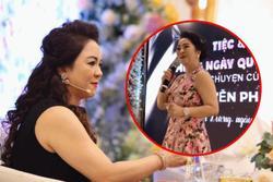 Clip vợ ông Dũng Lò Vôi hát live như 'nuốt đĩa', netizen tưởng đâu... ca sĩ