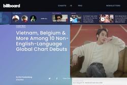 Fan Việt 'phổng mũi' tự hào khi Sơn Tùng M-TP được khen trên trang chủ Billboard