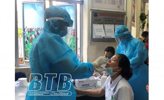Ghi nhận 4 ca dương tính với SARS-CoV-2, là sinh viên Đại học Y - Dược Thái Bình-1