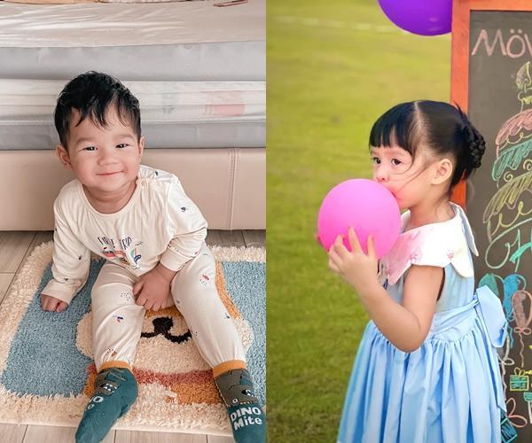 Con trai Đặng Thu Thảo 1 tuổi nhưng lớn bằng chị gái lên 3-2