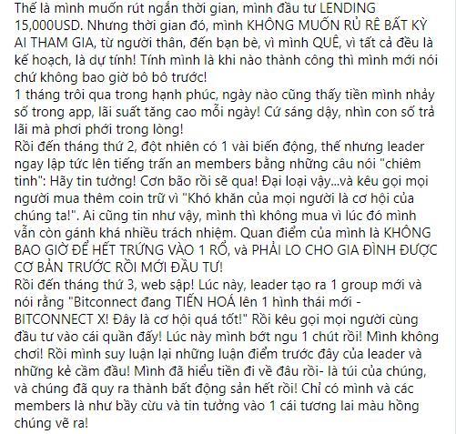 Sập bẫy tiền ảo, nhạc sĩ Nguyễn Văn Chung cay đắng: Đừng chơi-5