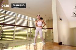 Học Hana Giang Anh bài tập aerobic đốt mỡ hiệu quả cho người béo phì