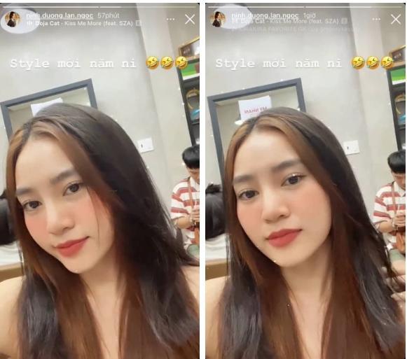 Lan Ngọc đu trend tóc mái Jennie muộn nhưng visual thăng hạng ầm ầm-2