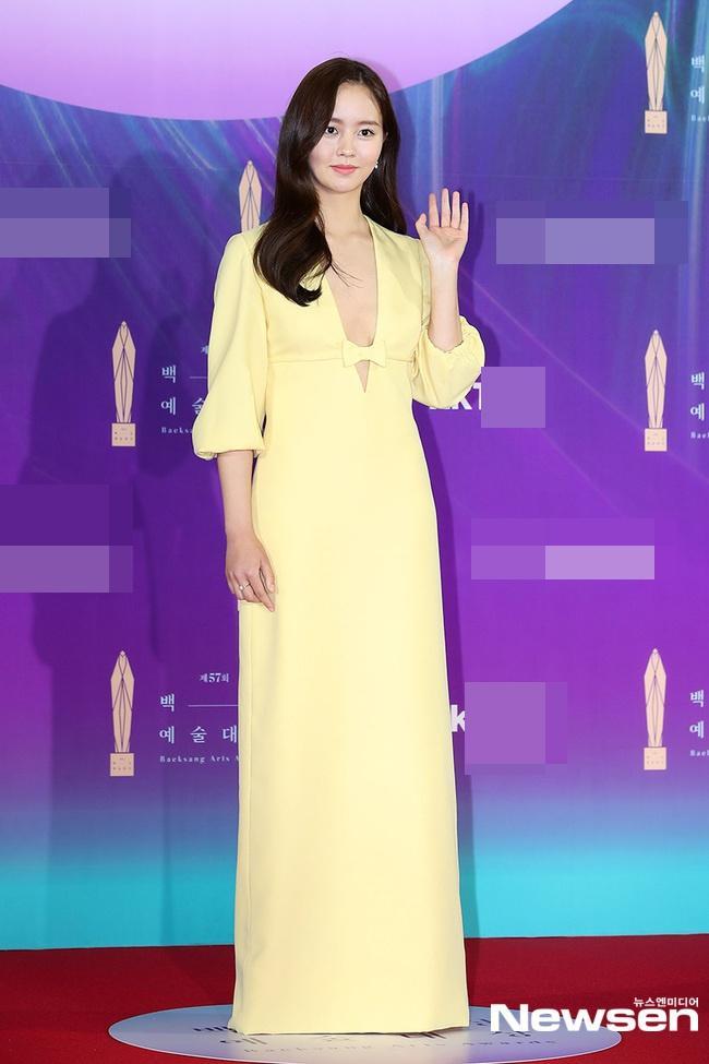 Dàn sao khủng nô nức váy áo đổ bộ Baeksang Arts Awards 2021-3
