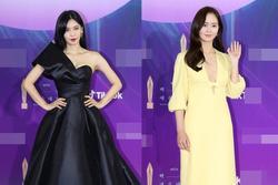 Dàn sao 'khủng' nô nức váy áo đổ bộ Baeksang Arts Awards 2021