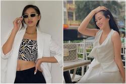 Đỗ Thị Hà diện đồ nữ tính thì xinh, chuyển style cool ngầu có vẻ 'lệch pha'?
