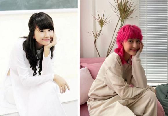 Trai xinh gái đẹp cosplay ảnh thời đi học, ai là người thay đổi nhiều nhất?-1
