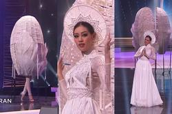 Khánh Vân diễn quốc phục 'Kén Em' xuất sắc tại Miss Universe 2020