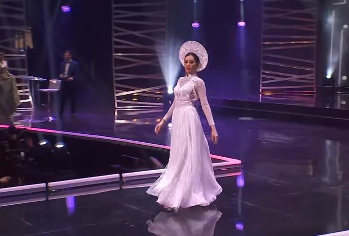 Khánh Vân diễn quốc phục Kén Em xuất sắc tại Miss Universe 2020-5