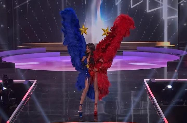 Khánh Vân diễn quốc phục Kén Em xuất sắc tại Miss Universe 2020-10