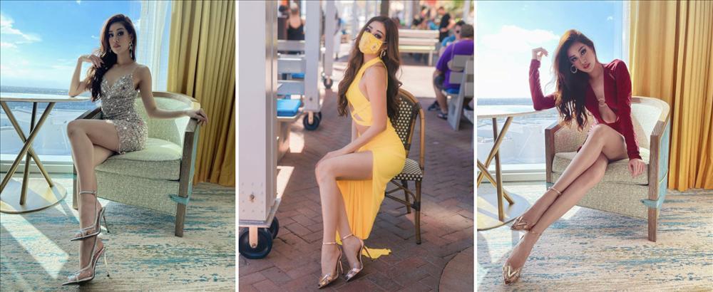 Vì sao hoa hậu Khánh Vân liên tục mặc gợi cảm tại Miss Universe?-1