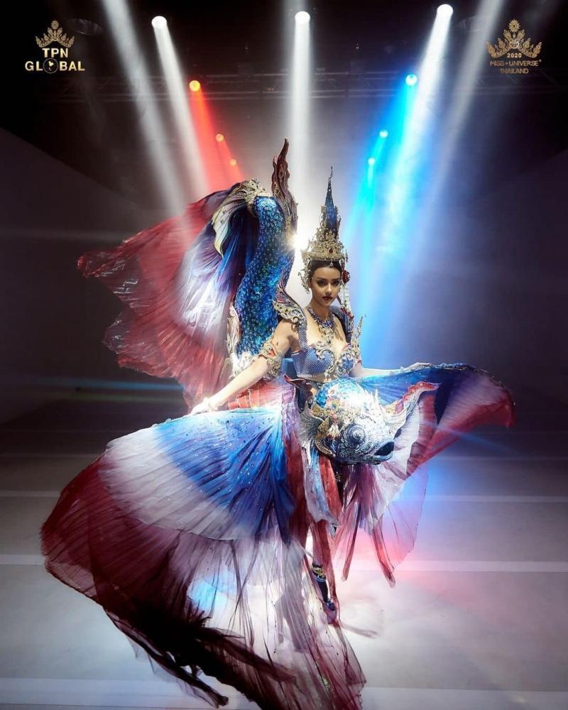 Top 10 trang phục dân tộc xuất sắc nhất Miss Universe-1