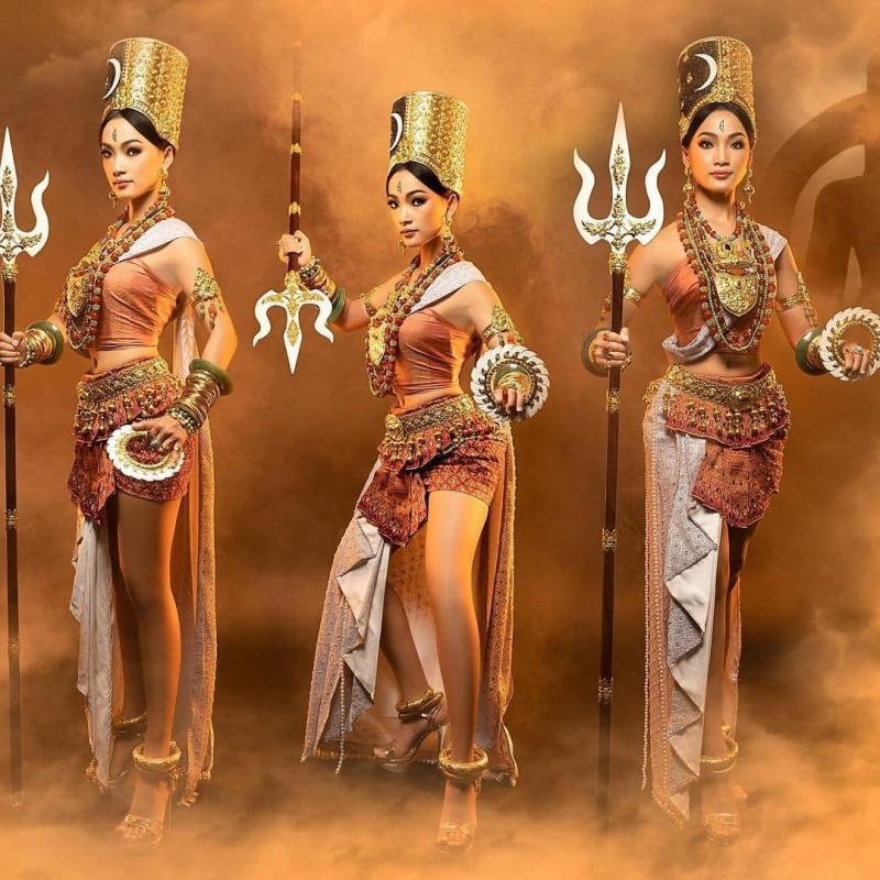 Top 10 trang phục dân tộc xuất sắc nhất Miss Universe-8