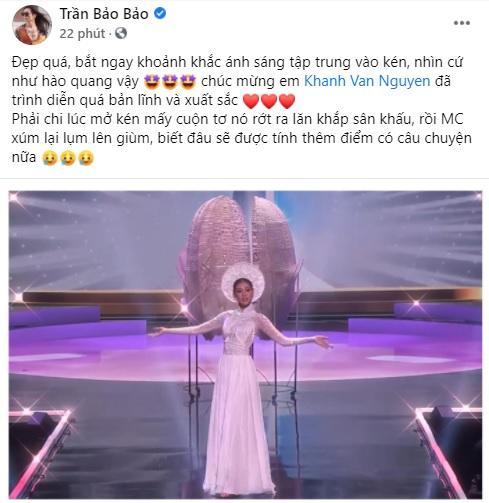 Sao Việt nổi da gà khi xem Khánh Vân thi quốc phục Miss Universe 2020-9
